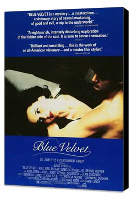 Blue Velvet - 27 x 40 Movie Poster - Style E - Museum Wrapped Canvas