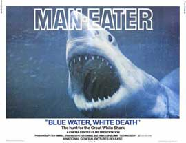 Blue Water White Death - 11 x 14 Movie Poster - Style A