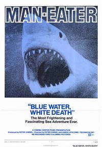 Blue Water White Death - 43 x 62 Movie Poster - Bus Shelter Style A