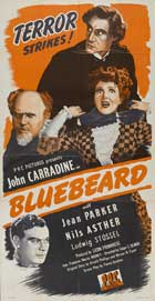 Bluebeard - 20 x 40 Movie Poster - Style A