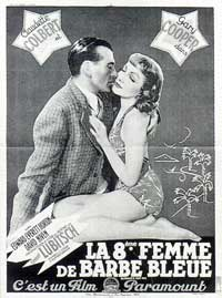 Bluebeard's Eighth Wife - 11 x 17 Movie Poster - French Style A