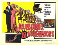 Bluebeards Ten Honeymoons - 11 x 14 Movie Poster - Style D