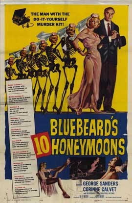 Bluebeards Ten Honeymoons - 27 x 40 Movie Poster - Style A