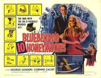 Bluebeards Ten Honeymoons - 22 x 28 Movie Poster - Half Sheet Style B