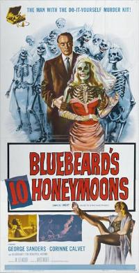 Bluebeards Ten Honeymoons - 11 x 17 Movie Poster - Style B