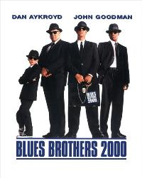 Blues Brothers 2000 - 27 x 40 Movie Poster - Style B
