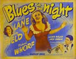Blues in the Night - 22 x 28 Movie Poster - Half Sheet Style A