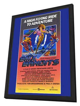 BMX Bandits - 11 x 17 Movie Poster - Style A - in Deluxe Wood Frame