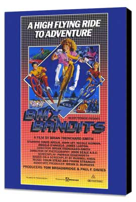 BMX Bandits - 11 x 17 Movie Poster - Style A - Museum Wrapped Canvas