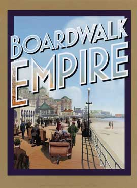 Boardwalk Empire (TV) - 11 x 17 TV Poster - Style D