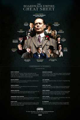 Boardwalk Empire (TV) - 11 x 17 TV Poster - Style K
