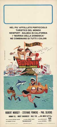 The Boatniks - 13 x 28 Movie Poster - Italian Style A