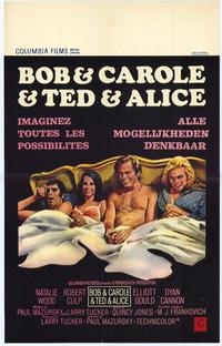 Bob & Carol & Ted & Alice - 11 x 17 Poster - Foreign - Style B