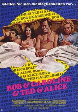 Bob & Carol & Ted & Alice - 11 x 17 Poster - Foreign - Style A
