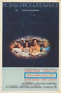 Bob & Carol & Ted & Alice - 43 x 62 Movie Poster - Bus Shelter Style A