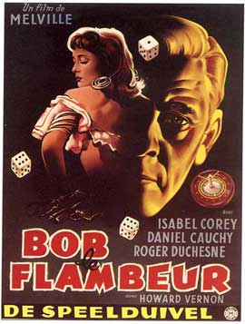 Bob le flambeur - 11 x 17 Movie Poster - Belgian Style B
