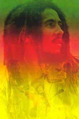 Bob Marley - 11 x 17 Music Poster - Style B