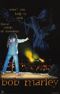 Bob Marley - Music Poster - 22 x 34 - Style B
