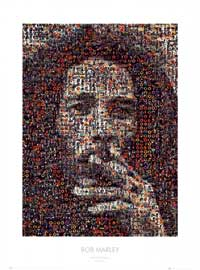 Bob Marley - Music Poster - 23 x 31 - Style A
