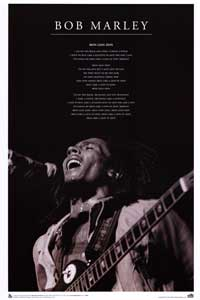 Bob Marley - Music Poster - 24 x 36 - Style A