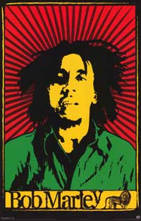 Bob Marley - Music Poster - 11 x 17 - Style A
