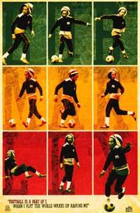 Bob Marley - Music Poster - 22 x 34 - Style F