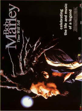 Bob Marley: Time Will Tell - 27 x 40 Movie Poster - Style B