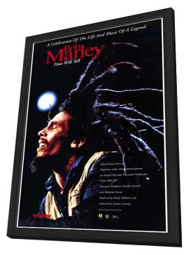 Bob Marley: Time Will Tell - 11 x 17 Movie Poster - Style A - in Deluxe Wood Frame