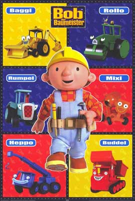 Bob the Builder - 11 x 17 Movie Poster - German Style A