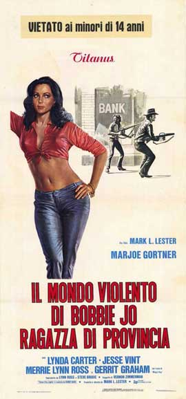 Bobbie Jo and the Outlaw - 11 x 17 Movie Poster - Italian Style A