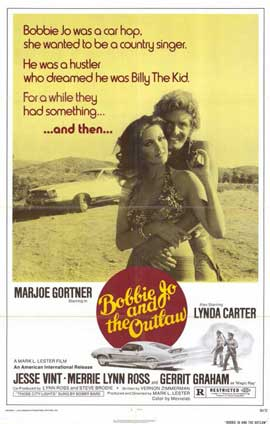 Bobbie Jo and the Outlaw - 11 x 17 Movie Poster - Style A
