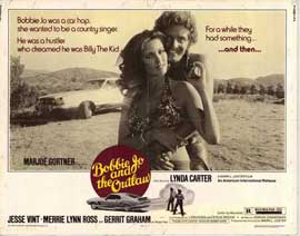Bobbie Jo and the Outlaw - 22 x 28 Movie Poster - Half Sheet Style A