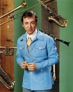 Bobby Darin - Bobby Darin Posed in Blue Formal Suit