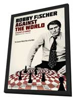 Bobby Fischer Against the World - 11 x 17 Movie Poster - Style A - in Deluxe Wood Frame