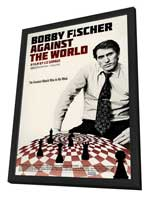 Bobby Fischer Against the World - 27 x 40 Movie Poster - Style A - in Deluxe Wood Frame