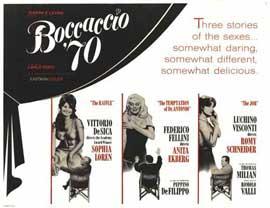 Boccaccio '70 - 11 x 14 Movie Poster - Style A