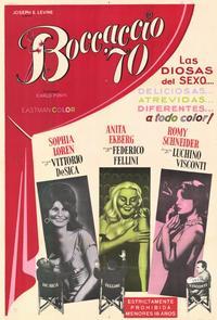 Boccaccio '70 - 11 x 17 Movie Poster - Style A