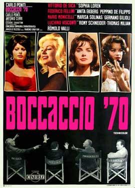 Boccaccio '70 - 11 x 17 Movie Poster - Italian Style A
