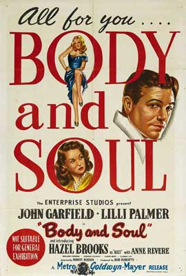 Body and Soul - 11 x 17 Movie Poster - Australian Style A