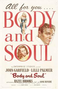 Body and Soul - 11 x 17 Movie Poster - Style C