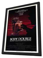 Body Double - 27 x 40 Movie Poster - Style B - in Deluxe Wood Frame