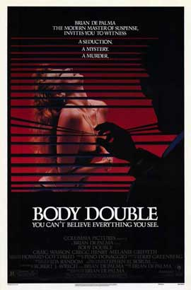 Body Double - 11 x 17 Movie Poster - Style B