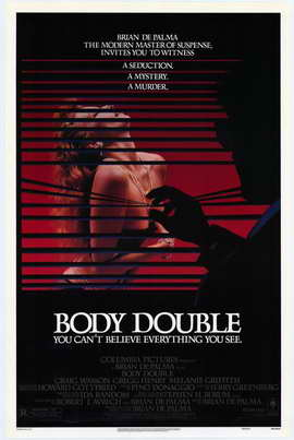 Body Double - 27 x 40 Movie Poster - Style B