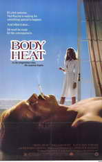 Body Heat - 11 x 17 Movie Poster - Style B