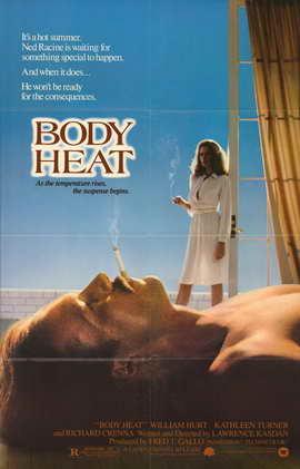 Body Heat - 27 x 40 Movie Poster - Style B