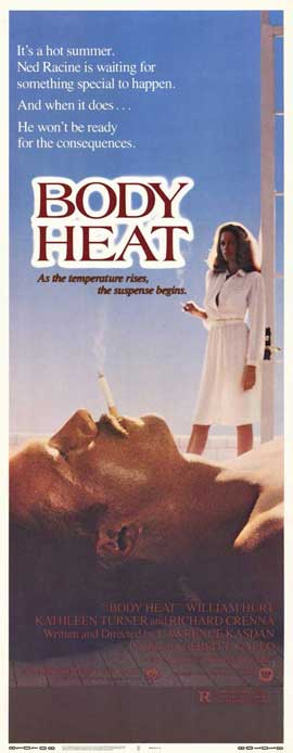 Body Heat - 14 x 36 Movie Poster - Insert Style A