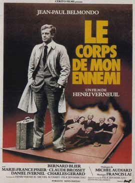 Body of My Enemy - 11 x 17 Movie Poster - French Style A