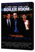 Boiler Room - 11 x 17 Movie Poster - Style B - Museum Wrapped Canvas