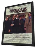 Boiler Room - 11 x 17 Movie Poster - Style C - in Deluxe Wood Frame