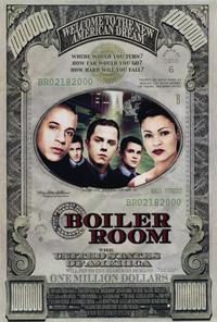 Boiler Room - 43 x 62 Movie Poster - Bus Shelter Style B